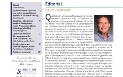 Revue N°4 INCLUSION SOCIALE – Revue scientifique et professionnelle en langue française».