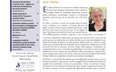 Revue N°5 INCLUSION SOCIALE – Revue scientifique et professionnelle en langue française».